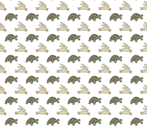Slow and Steady fabric by nann on Spoonflower - custom fabric
