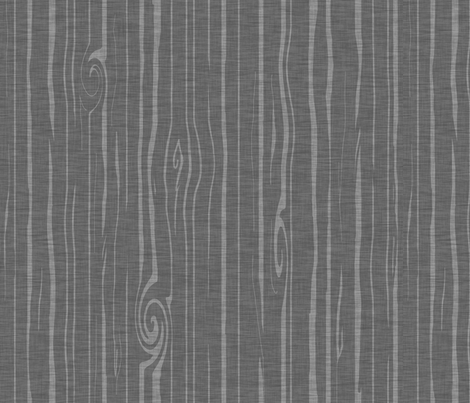 Weathered woodgrain - Dark grey fabric by sugarpinedesign on Spoonflower - custom fabric