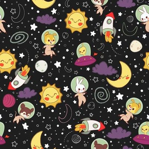 Space Explorers - Alternate colors
