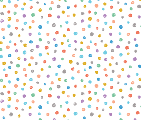 Confetti Multi fabric by studio_amelie on Spoonflower - custom fabric