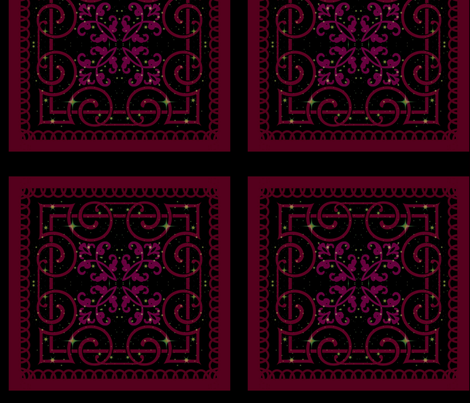 Art Deco edit fabric by sunflowerfields on Spoonflower - custom fabric