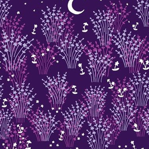 Moonlit Lavender in Purple