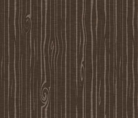Weathered Wood - Dark brown fabric by sugarpinedesign on Spoonflower - custom fabric