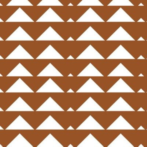 Brown Tribal Triangle 1