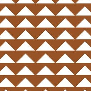 Brown Tribal Triangle 2