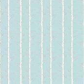 Birch forest on softest blue linen