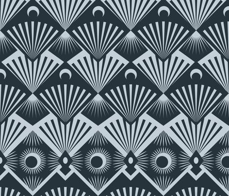 Moonrise fabric by seesawboomerang on Spoonflower - custom fabric
