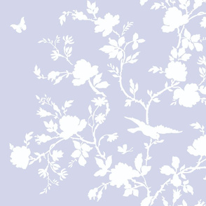 Ames Chinoiserie blue violet