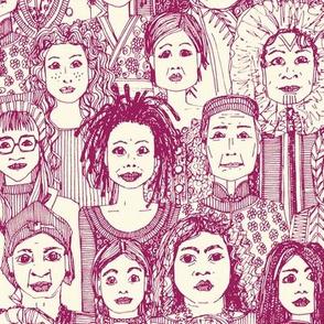 WOMEN OF THE WORLD CHERRY