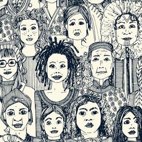 WOMEN OF THE WORLD INDIGO