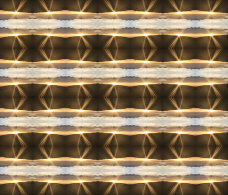 Trippy Merrill Sun Rays  fabric by ganja_garden_momma on Spoonflower - custom fabric