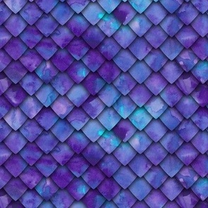 dragon scales - purple