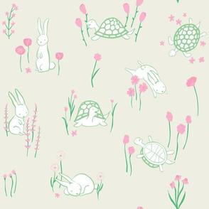 Spring Meadow - Cream
