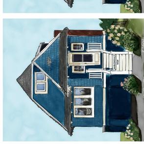 Blue Cape Cod