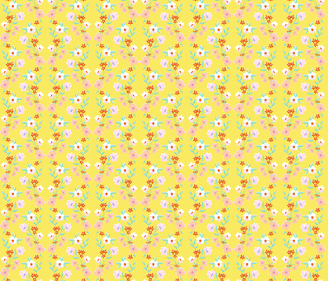Sweet as Honey fabric by melanie_hodge_designs on Spoonflower - custom fabric