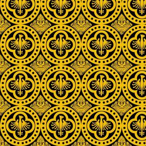 Authentic Design 004 - Yellow on Black