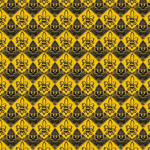 Authentic Design 005 - Black on Yellow