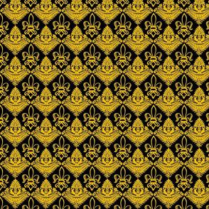 Authentic Design 005 - Yellow on Black