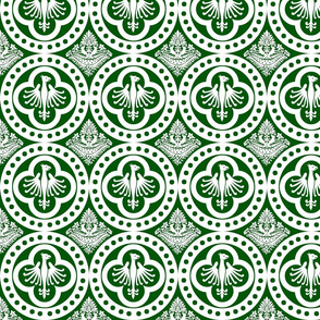 Authentic Design 004 - White on Green