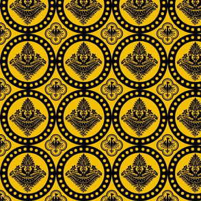 Authentic Design 002 - Black on Yellow