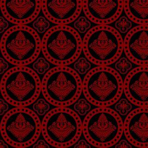Authentic Design 002 - Red on Black