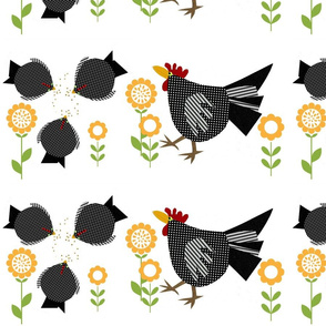 hens & rooster
