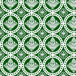 Authentic Design 002 - White on Green