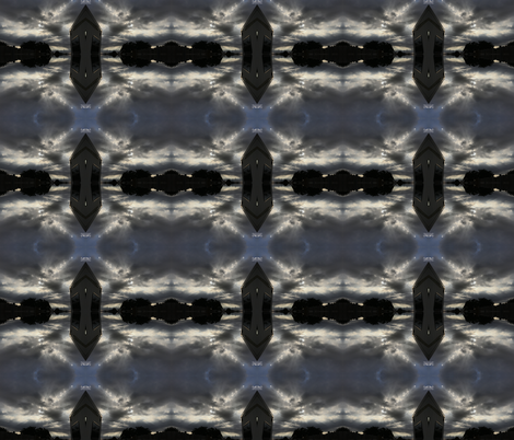 Trippy cloudy Texas sky fabric by ganja_garden_momma on Spoonflower - custom fabric