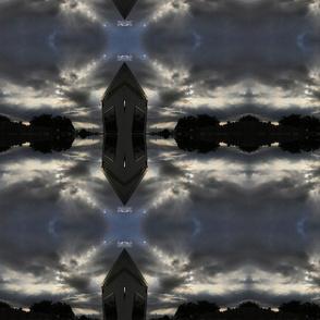 Trippy cloudy Texas sky