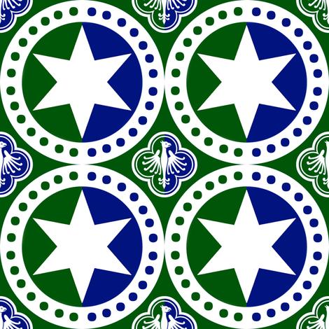 Ayreton Populace Badge Design fabric by swabish_designs on Spoonflower - custom fabric