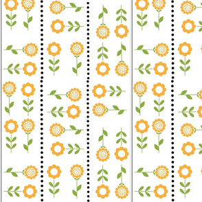 sunflower dot/stripe