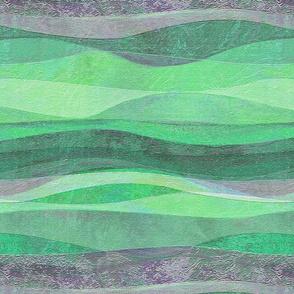 pistachio rolling aqua waves hills