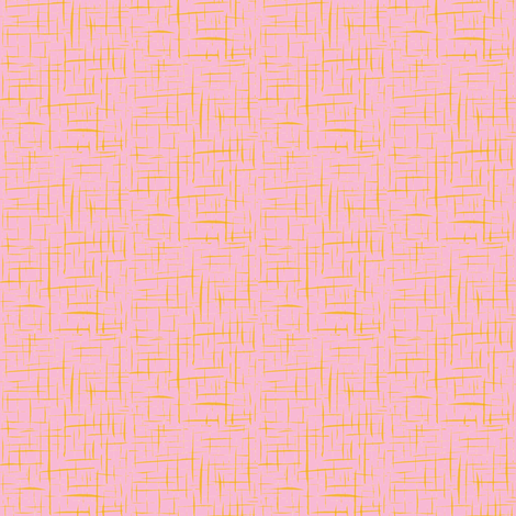 Toffee Crackles on Candy Pink - Small Scale fabric by rhondadesigns on Spoonflower - custom fabric