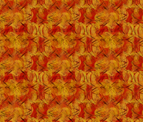 red-yellow scatter fabric by wren_leyland on Spoonflower - custom fabric