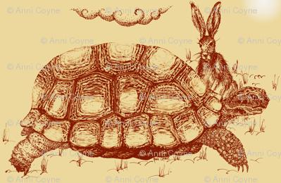 Hare_Tortoise2-Sepia