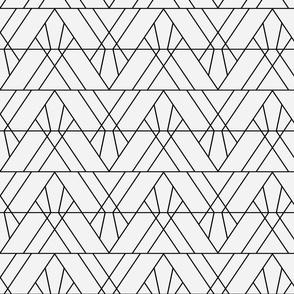 Art Deco Triangles - Small