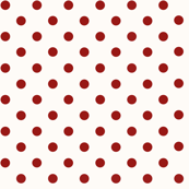 Dotty: Polka Dots Red & Cream