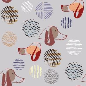 Dog pattern4