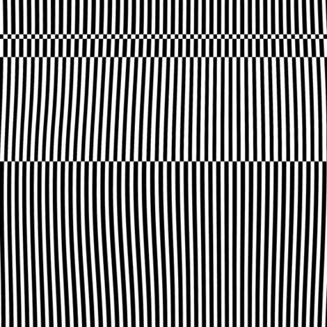 Optical black-white stripes fabric by wren_leyland on Spoonflower - custom fabric