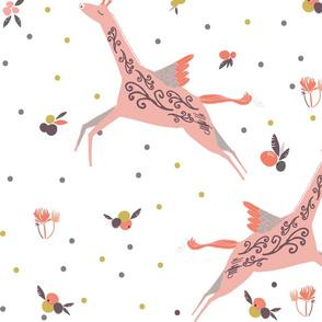 Flying Unicorn Giraffe