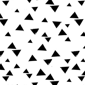 large scale triangles