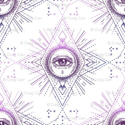 Sacred Geometry All Seeing Eye Pattern