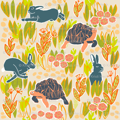 KHeck tortoise and hare