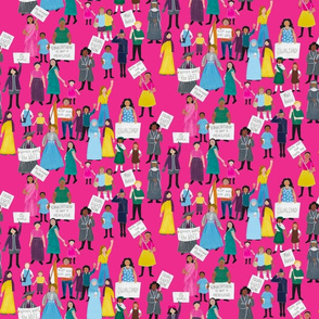 Womens Rights Around the World on Magenta