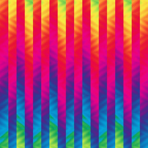 vertical rainbow stripe