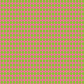 Pink and Green Argyle Black Small Version