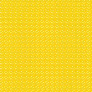 White and Mustard Mini Stars