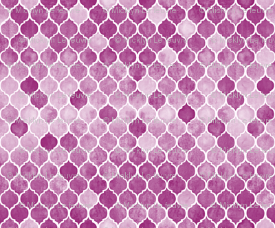 Textured Plum Purple Moroccan Tiles Small version
