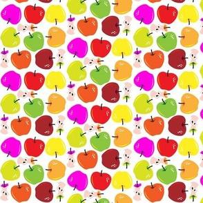 multicolor apple toss