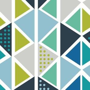 MidCentury Modern Triangles